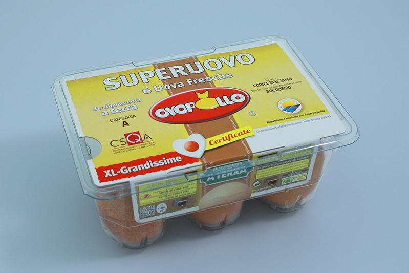 Ovopollo - A terra 6 uova XL grandissime