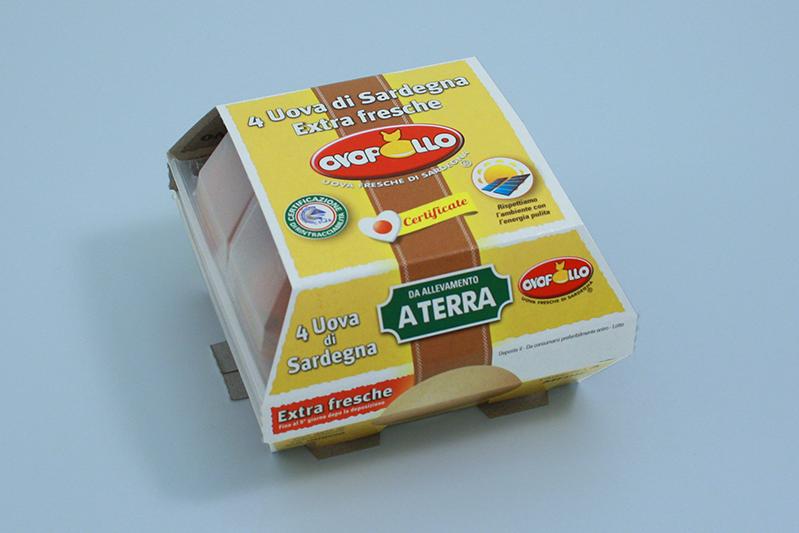 Ovopollo - Extrafresche allevate a terra 4 uova