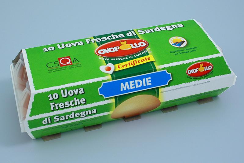 Ovopollo - Fresche 10 uova medie