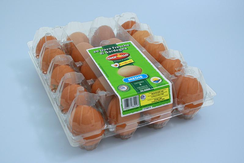 Ovopollo - Fresche 20 uova medie