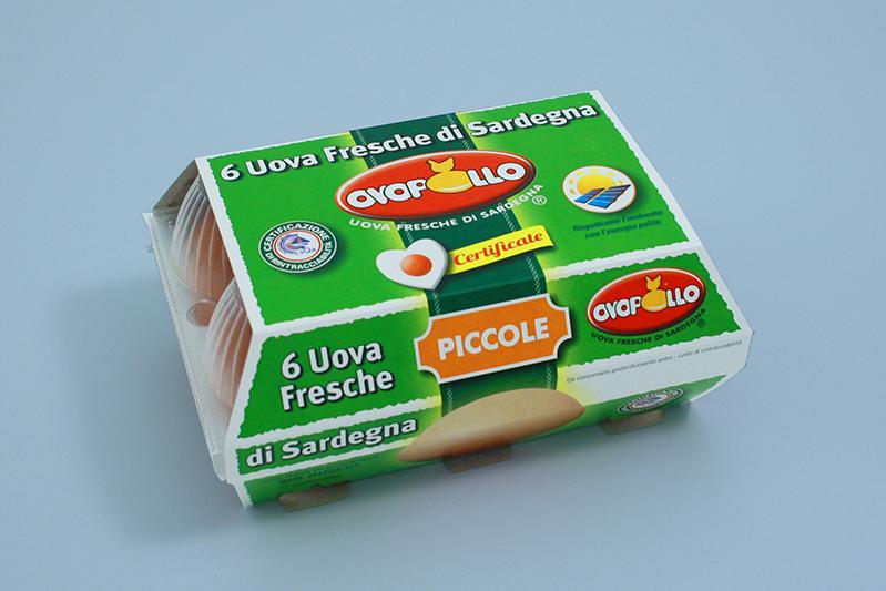 Ovopollo - Fresche 6 uova piccole