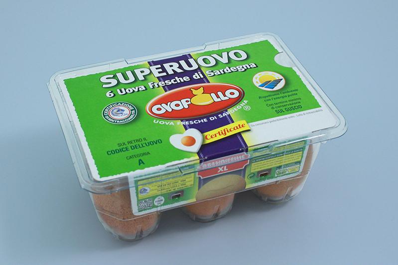 Ovopollo - Superuovo 6 uova XL grandissime