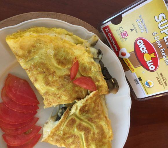 Omelette alle verdure di stagione
