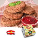 Burger di grano saraceno e miglio